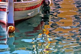 luci e colori  nell'acqua …
