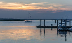 Sunset on Amelia Island (javajoba) Tags: ameliaisland fernandinabeach florida jackkennard nikon docks nikond5200 travel travellocal atlanta ga usa sunset boat sailboat dock water river stjohnsriver
