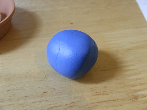 Ball of polymer clay