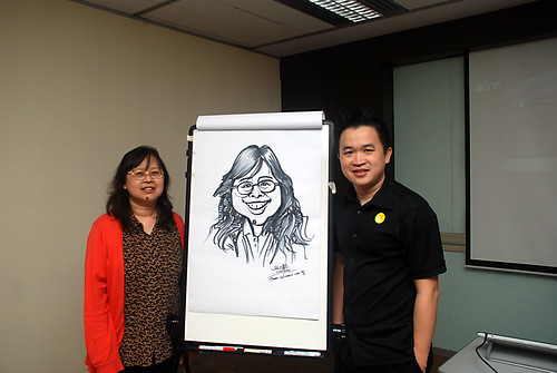 Caricature Workshop for AIA Robinson - Day 2 - 14