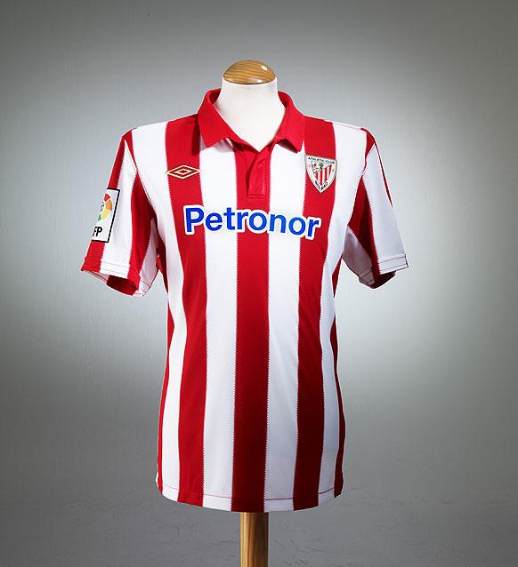 Athletic Bilbao Umbro 2010/11 Home Kit / Camiseta - FOOTBALL