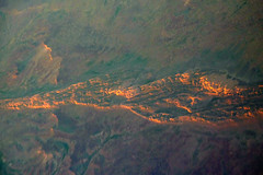 up in the air. simpson desert 9