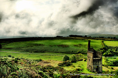 Wuthering Heights? (TimsPicsCornwall) Tags: house building heritage mine industrial engine historic national trust tavistock dartmoor