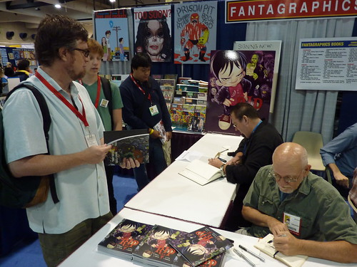 Mitch Schauer & Mike Vosburg - Fantagraphics at Comic-Con 2010