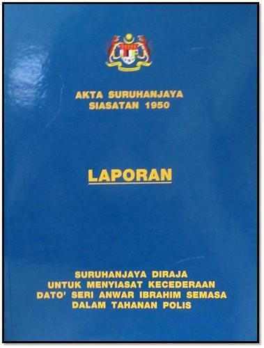Buku-Laporan Akta Suruhanjaya Siasatan 1950