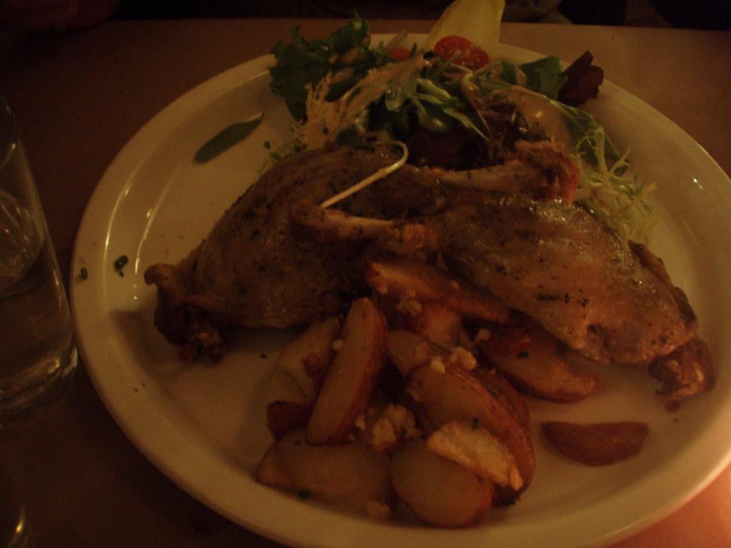 delicious confit duck