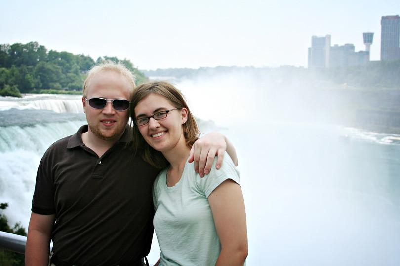 Patrick & I at Niagara Falls