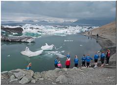 Jkulsrln - Glacier Lagoon (Maria-H) Tags: iceland glacier panasonic g1 iceberg jkulsrln 1445 lagooon dmcg1