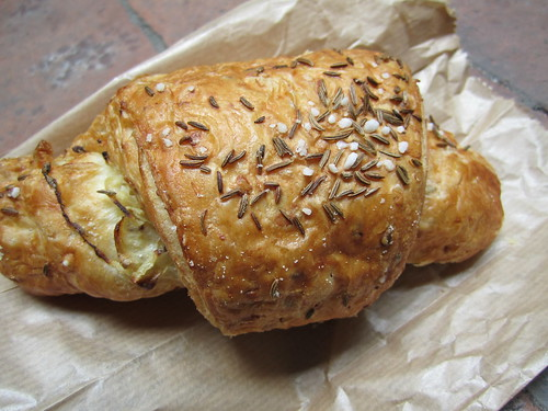 Vegan Rosemary, Onion and Garlic Croissant from Country Life
