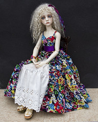 Darcy in her new dress (jeanoak (Lililace Originals)) Tags: 13 dollstown seola