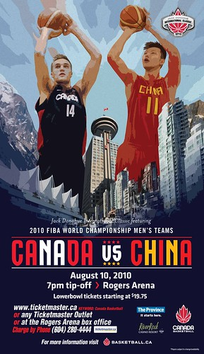 Canada vs China Basketball