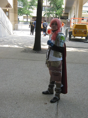 Lightning cosplay at Otakon 2010
