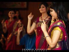 Bangladeshi Wedding (Shabbir Ferdous) Tags: portrait woman color colour girl female bride dance photographer shot celebration dhaka bangladesh bangladeshi gayeholud bangladeshiweddingphotographer shabbirferdous canon70200mm28lisusm canoneos1dmarkiv bangladeshweddding wwwshabbirferdouscom shabbirferdouscom