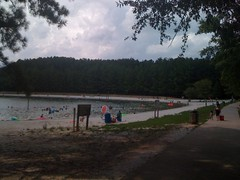Buford Dam Park Beach