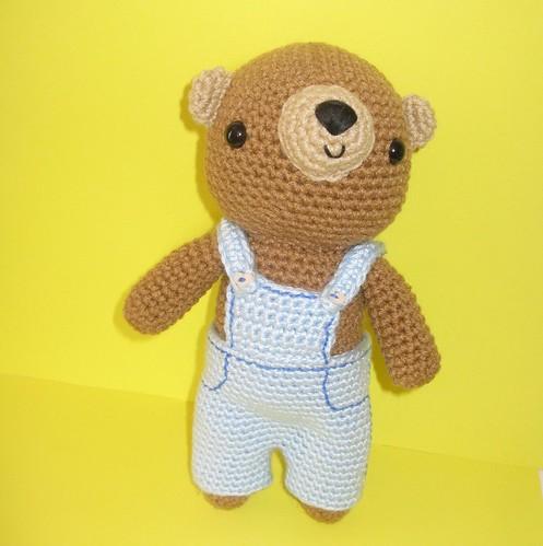 Sweet amigurumi teddy