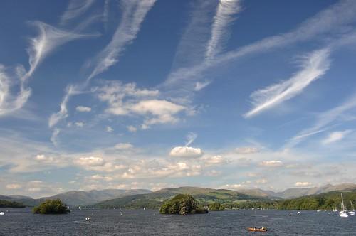 Sky : lake : harmonious