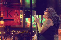 You're damn right I got the blues... (Wazzie.) Tags: tattoo canon memphis blues bealestreet silkyosullivans eos50d