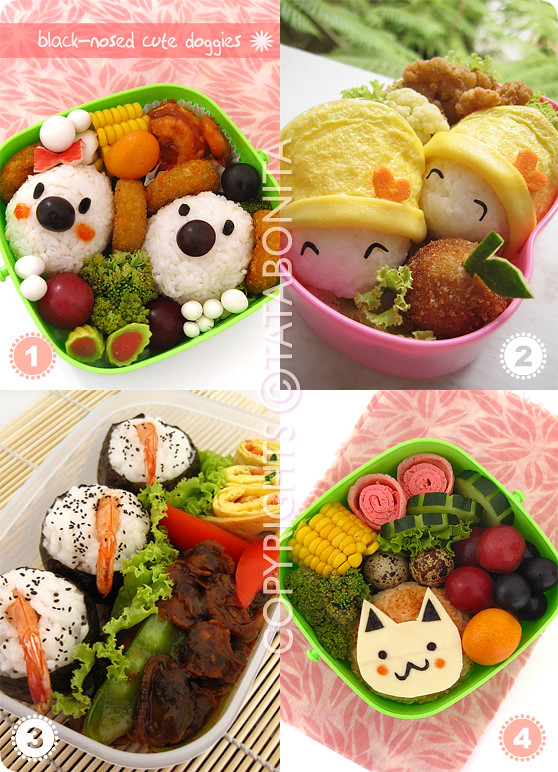 Molded Rice Bento 1