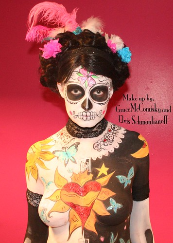 day of dead girl tattoo pictures. Day of the dead girl LSink