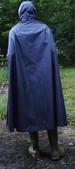 RainMacBleueF-116 (Umhaenge2010) Tags: cape cloak umhang capuchon raincape pellerin pèlerine regencape