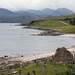 View looking north from Laide chapel, over the Gruinard Bay.