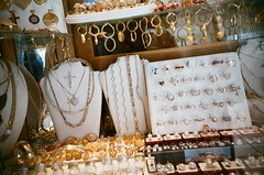Jewellery shop window, Split (KimpyWoo) Tags: holiday film window shop analog 35mm silver gold lomo lca lomography junk treasure croatia 200iso jewellery rings 200 earrings analogue filmcamera tacky nophotoshop split nondigital jewels expired tack necklaces croatian 35mmphotography unedited pendants jessops expiredfilm c41 filmphotography 35mmcamera traditionalphotography vintagephotography c41film jessops200