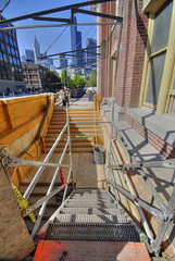 construction of King St transit station, Seattle (by: Seattle DOT, creative commons license)