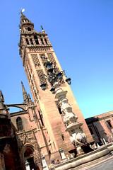 Tilting Menara (Architophery) Tags: santa de la sevilla spain cathedral gothic catedral mosque seville andalucia giralda archivo maría hdr sede menara indias