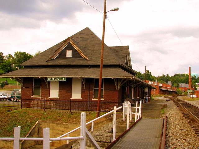 Greeneville TN Train Depot
