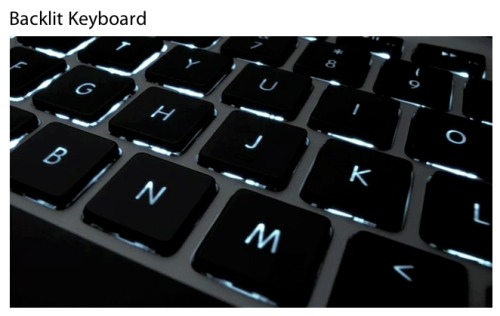 Apple Illuminated Backlit Keyboard
