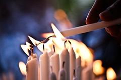 [フリー画像] テクスチャ・背景, 火・炎, ろうそく・キャンドル, 201009080100