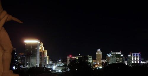 Providence Skyline from Prospect Park