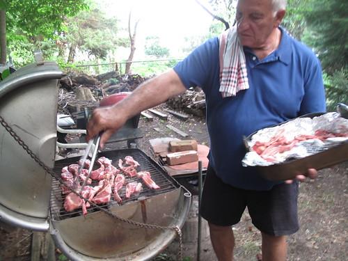 alberto & lamb chops