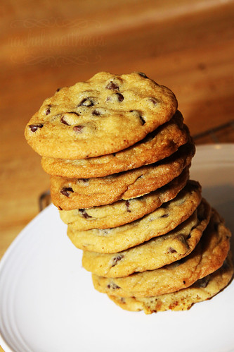 The bestest chocolate chip cookies ever