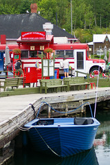 Killarney village dock