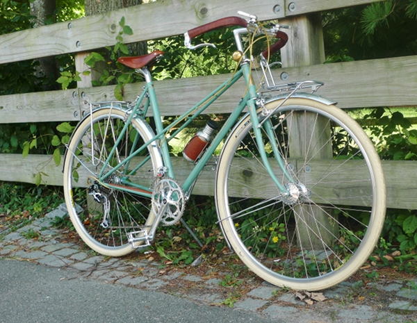 Two 26x2.35 Deli Bicycle Fat Tires Beach Cruiser Black White Wall 2 Tubes