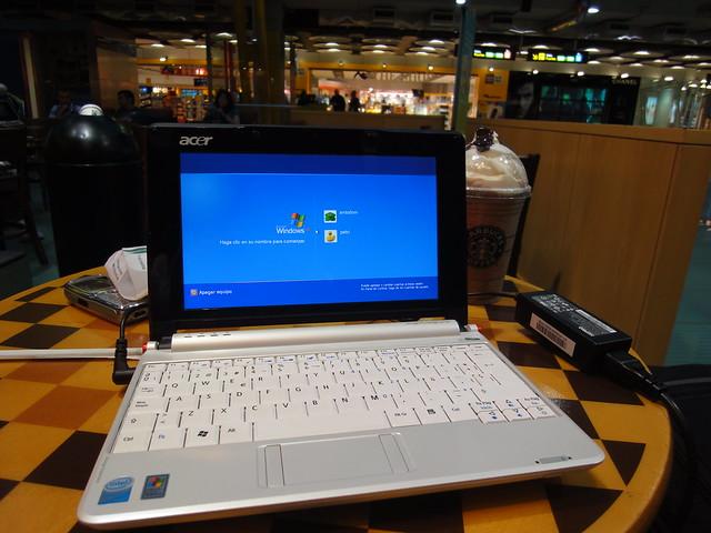 Starbucks no Aeroporto de Madrid
