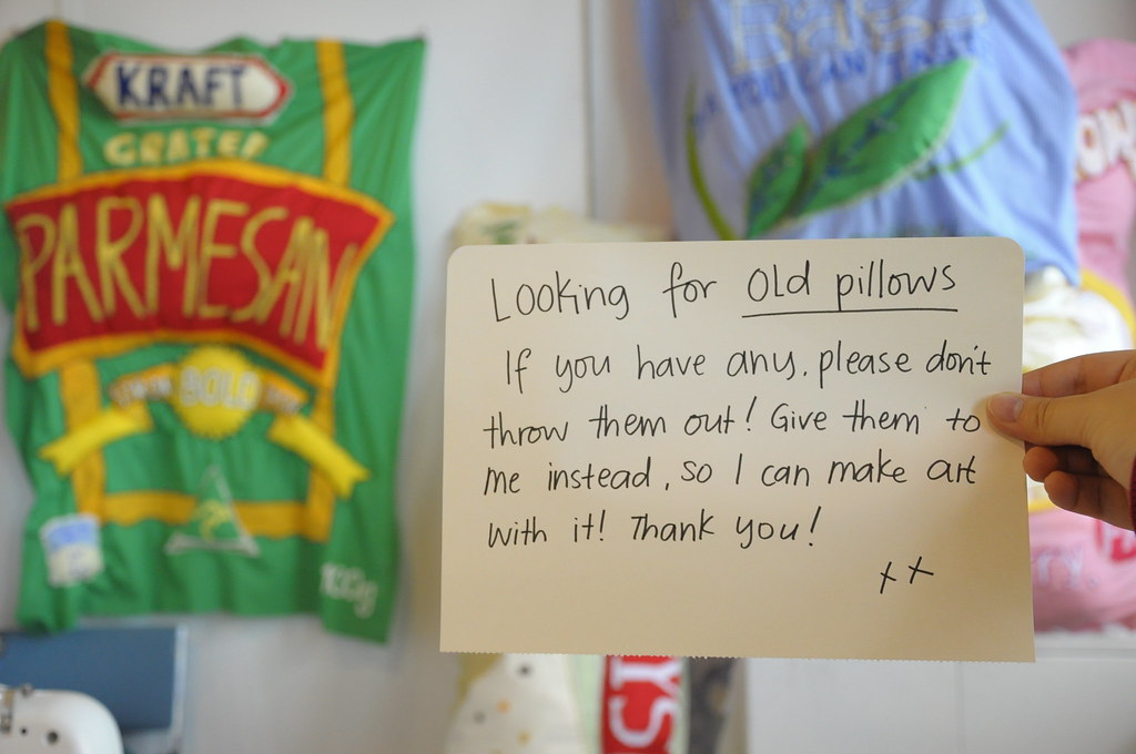 Looking for Old Pillows!