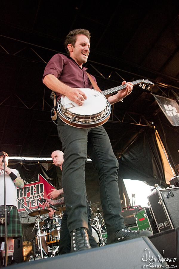 Dropkick Murphys - Warped Tour 2010