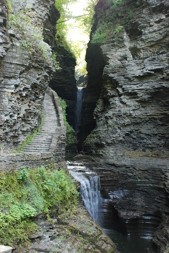 Watkins Glen State Park by Jeff French Segall
