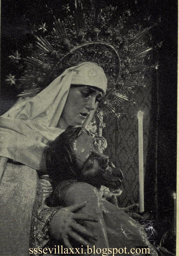 Nuestro Padre Jesús Descendido de la Cruz en el Misterio de su Sagrada Mortaja y Nuestra Señora de la Piedad, 194...