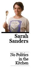 SarahSandersNoPolitics