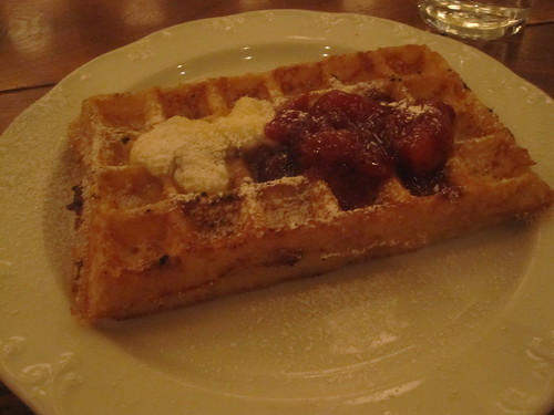 Waffle at Publican