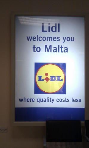 Lidl welcomes you to Malta