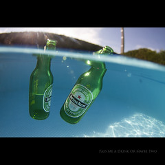 Day Two Hundred Twenty Eight (Seb Huruguen) Tags: blue summer music sun green eye water beer pool canon heineken eos soleil free sunny tokina enjoy 7d housing 365 seb t liquid poject 2010 sebastien dx donavon frankenreiter 1017mm etpa huruguen