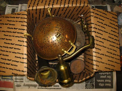 lamp parts box