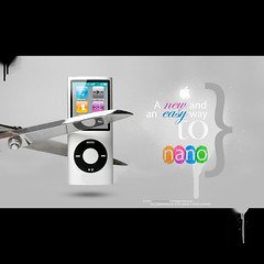 The birth of the new iPod nano. (Waseef Akhtar) Tags: new music white black apple rock mobile metal closeup modern digital radio studio fun design video portable media shiny technology ipod pieces play control display personal cut song buttons background steel small gray young style mini screen device mp3 player sharp entertainment stereo musical teen electronics sound button headphones stevejobs leisure tune pause gadget noise lcd nano electronic keypad audio loud isolated multimedia noisy headphone earphones mp4 volume listen liquidcrystal ipodnano