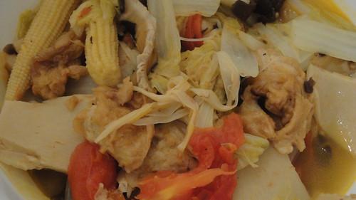 Mixed vegetables羅漢齋