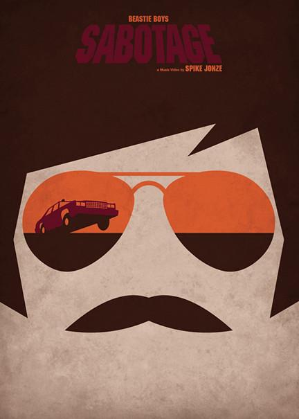 sabotage_beastie_boys_federico_mancosu_minimalist_movie_poster