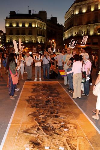 Concentración contra la impunidad del Franquismo (09/09/2010)